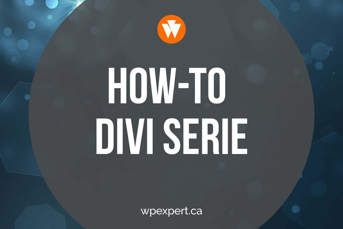 how-to-divi-serie
